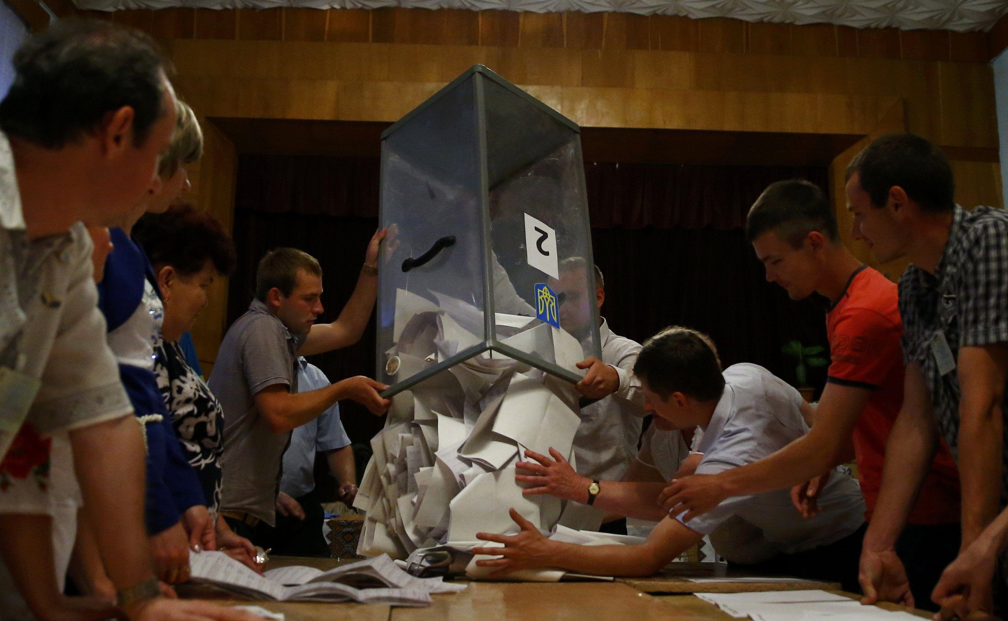 выборы, бюллетени