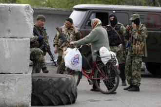 Террористы в Краматорске
