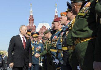 Владимир Путин на Дне Победы