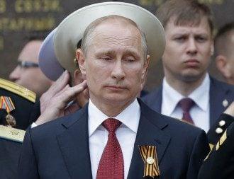 Путин в Крыму. Май 2014-го.