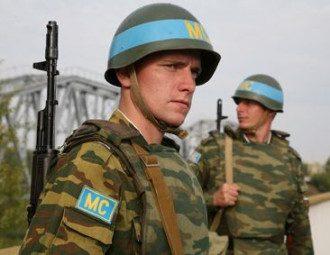 российские военные, миротворцы