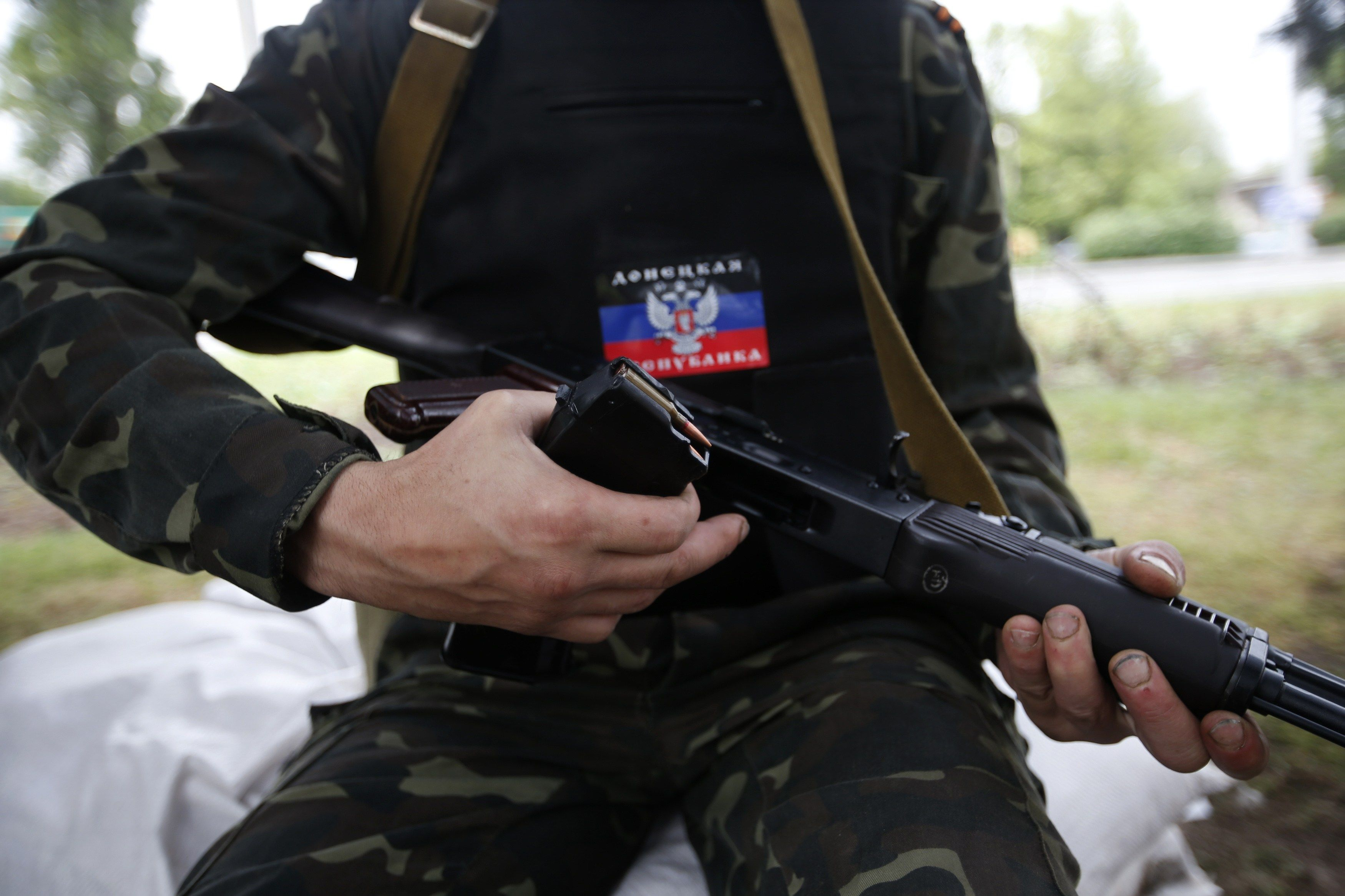 Боевики оборудовали новые позиции у Горловки