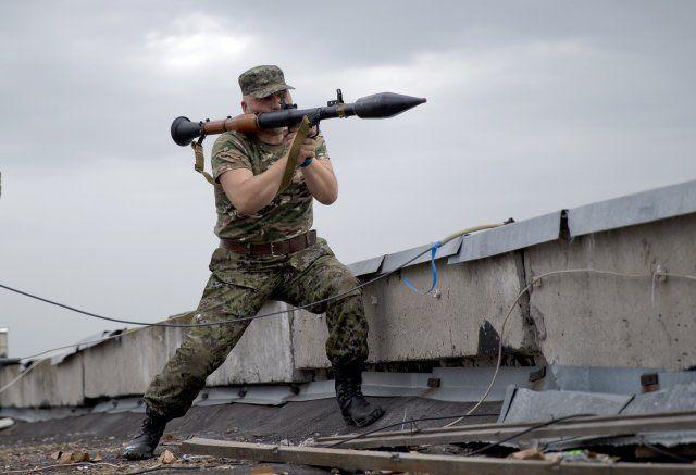 Боевики ушли под прикрытием гранатометов