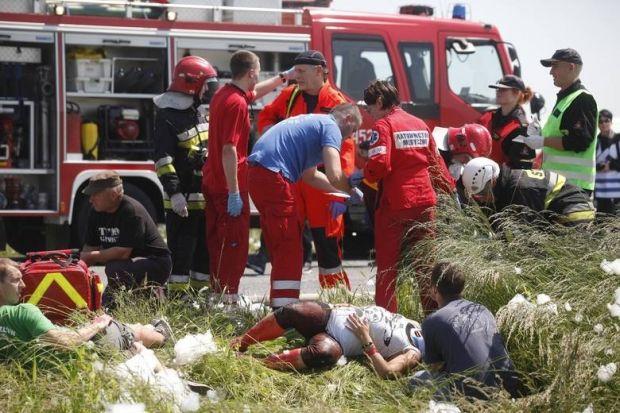 Жертвами аварии стали семь человек, еще пять пострадали