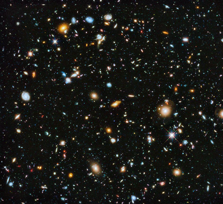 Космос, иллюстрация