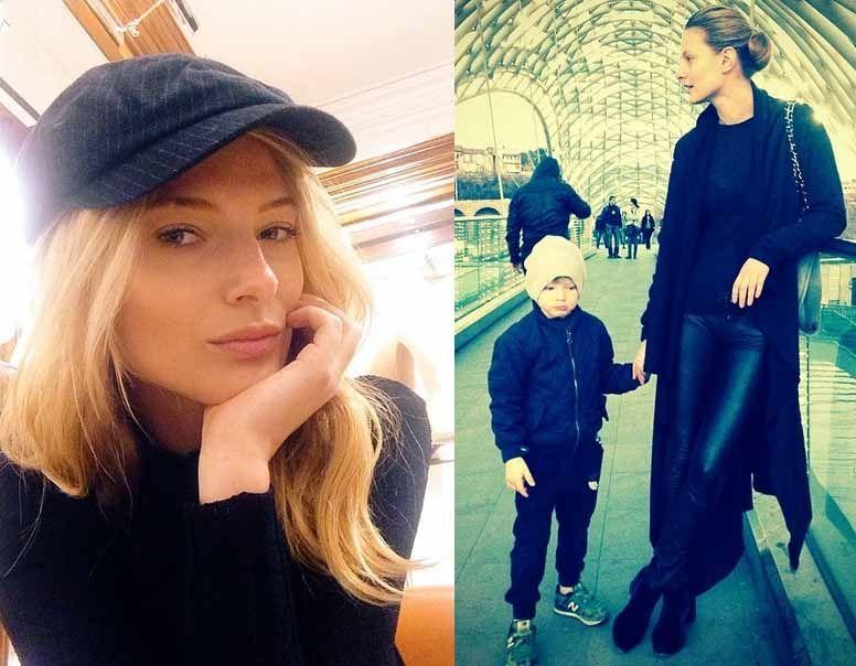 Татьяна Рубан с сыном