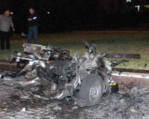 Взрыв машины Пушилина