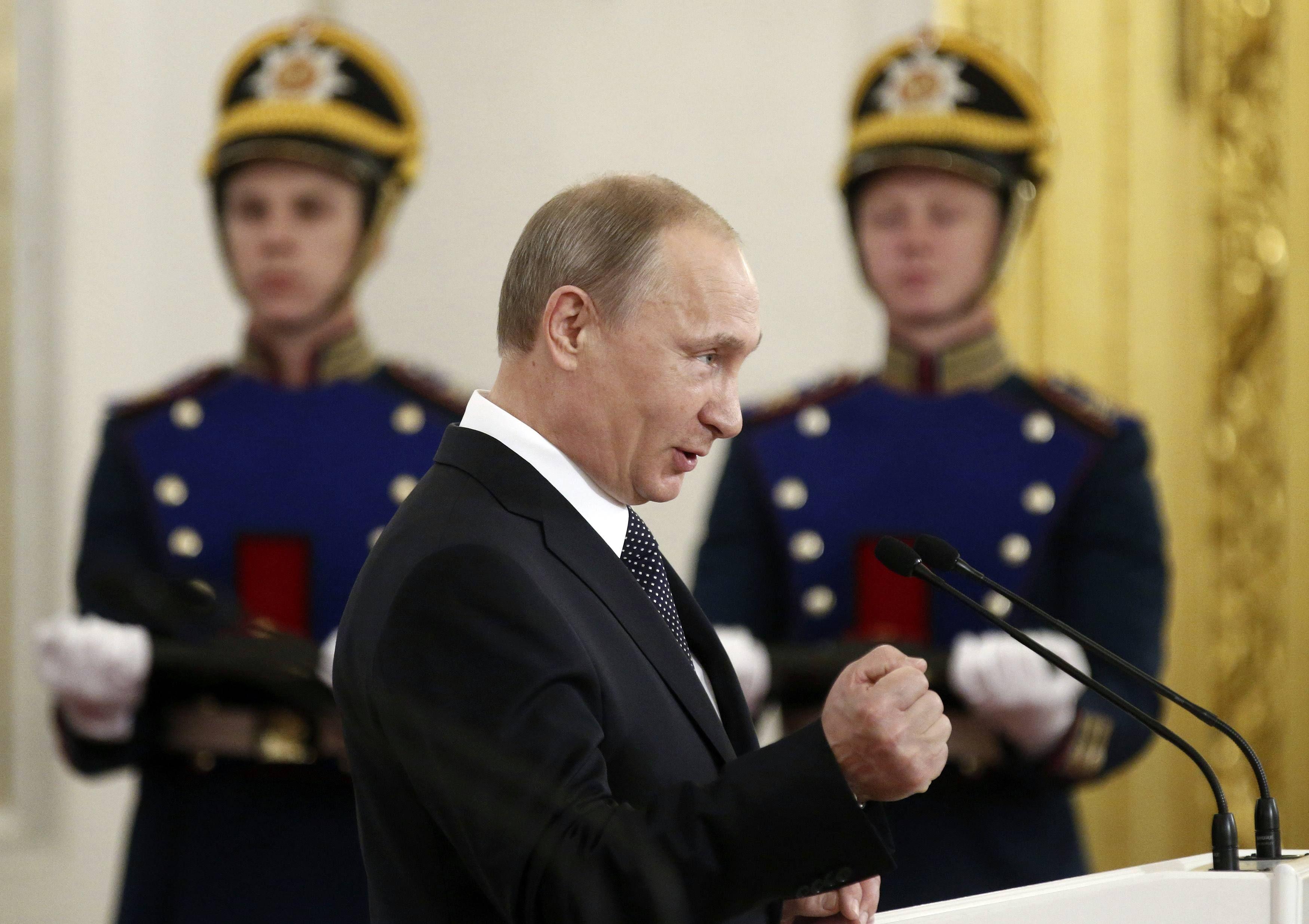 Путин не пойдет на вторжение в Украину