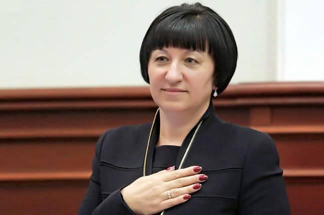 Секретарь Кевсовета Галина Герега