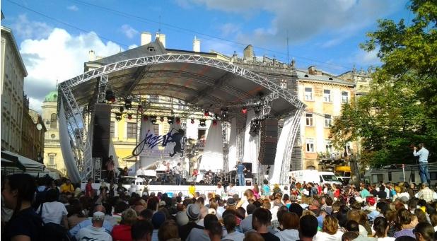 Фестиваль во Львове