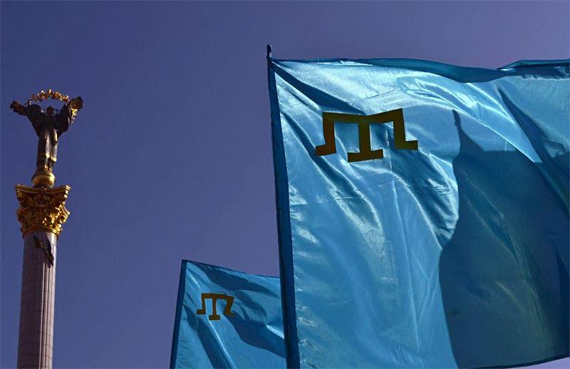 Флаги крымских татар, иллюстрация