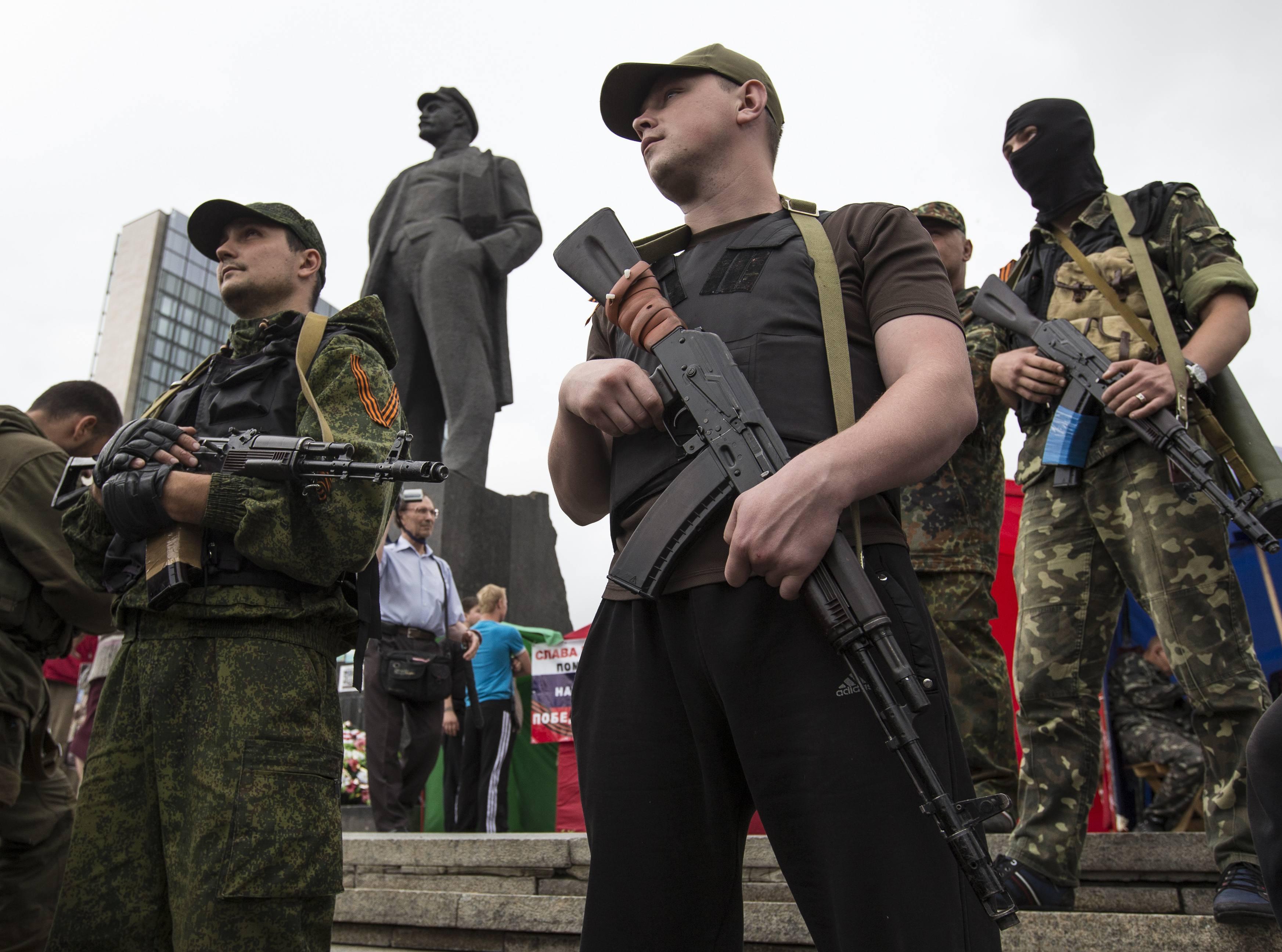 Боевики так называемой ДНР, иллюстрация