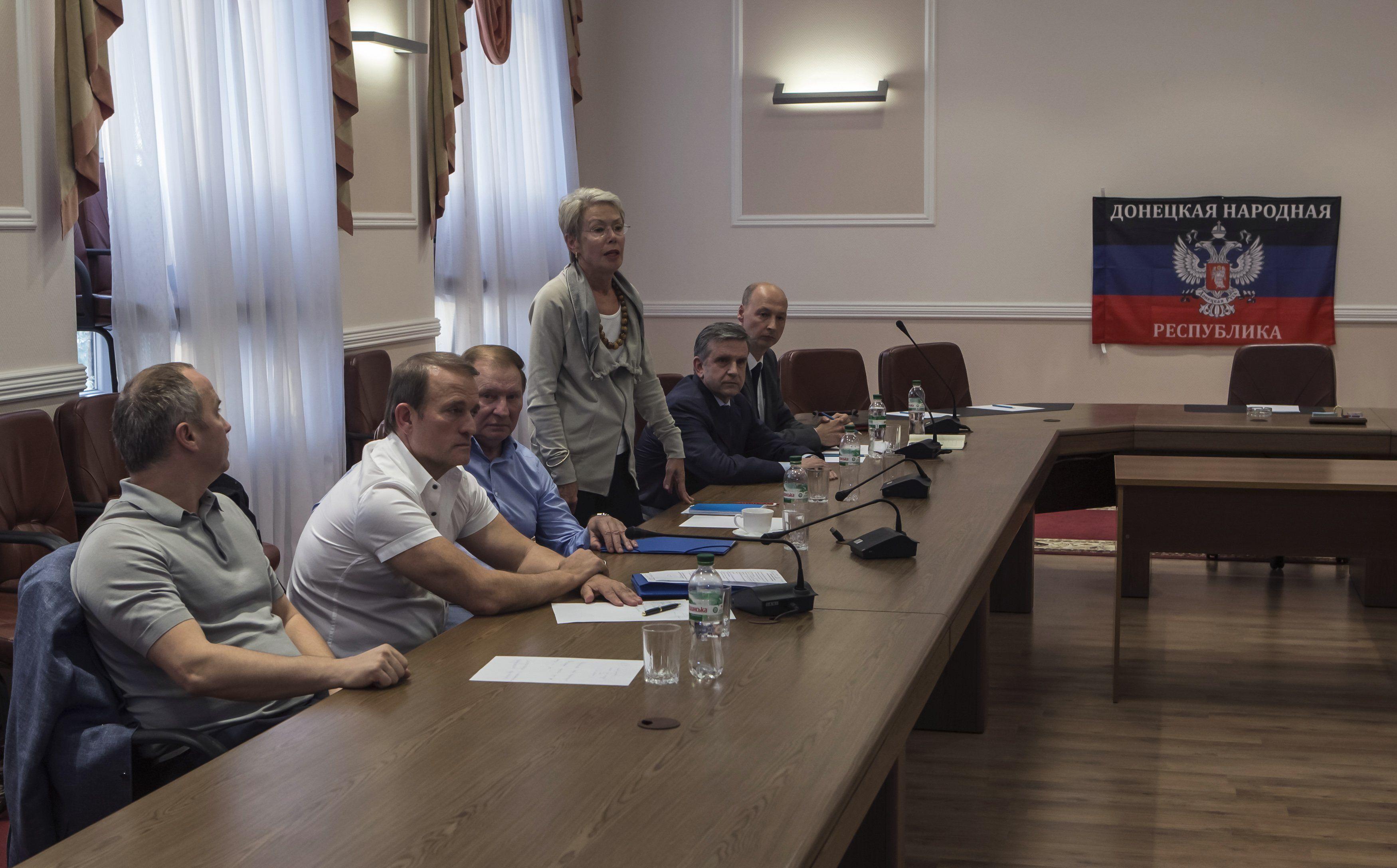 Медведчук, Кучма, Тальявини и Зурабов