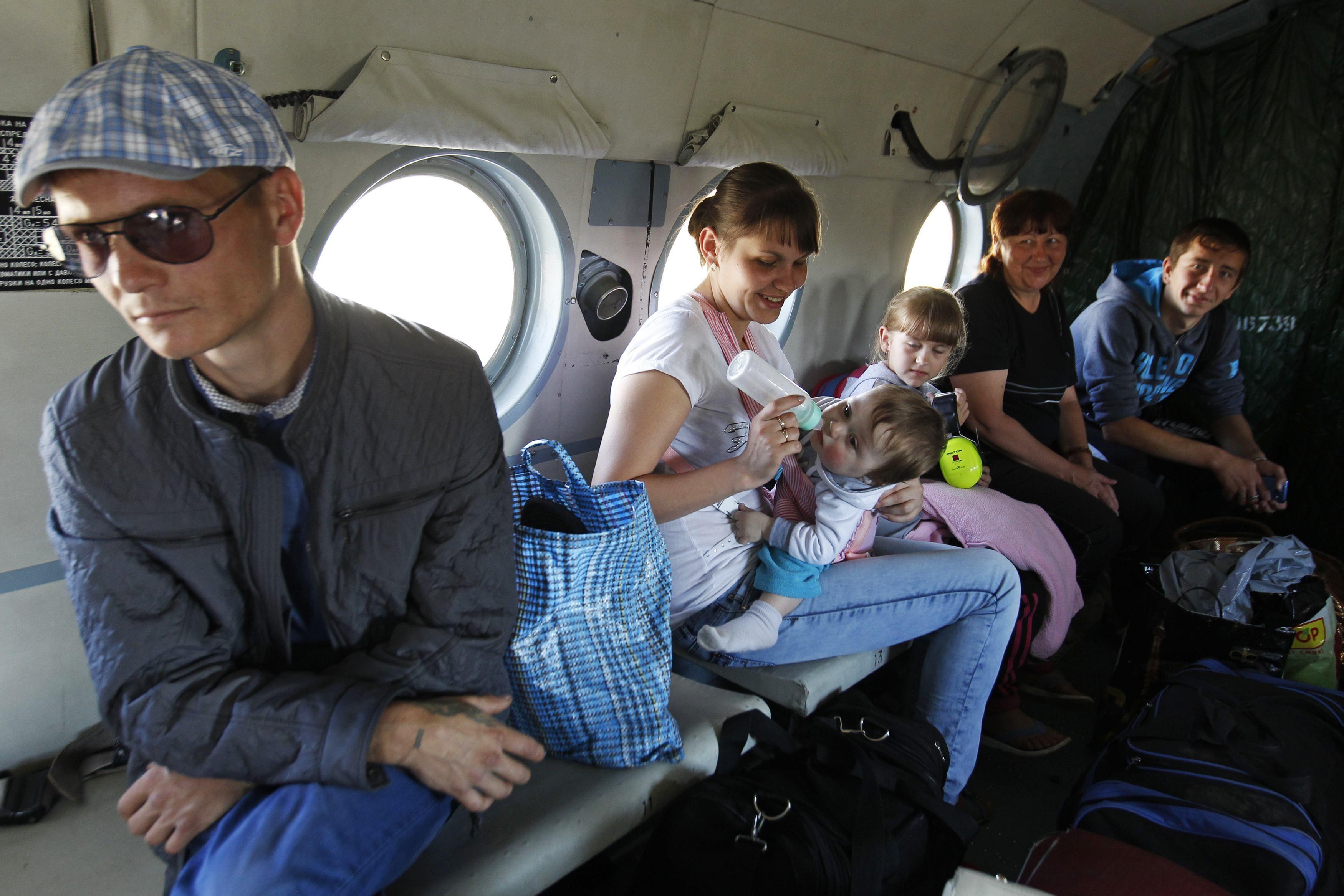 Переселенцы с востока Украины
