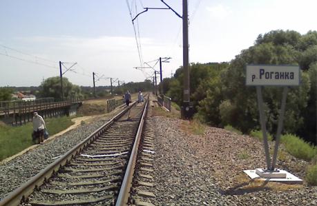 Железнодорожный мост на Харьковщине