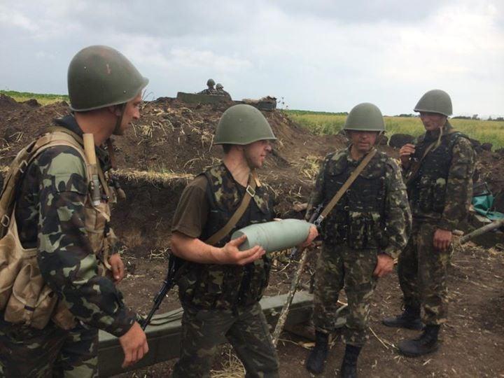 Украинская артиллерия ответила на огонь боевиков