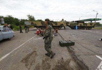 Террористы под Луганском
