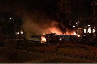 Пожар на Богдана Хмельницкого