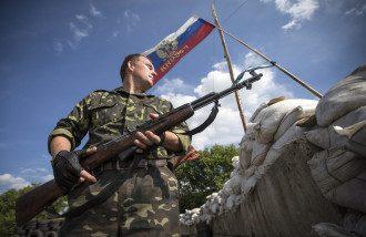 Боевик на Донбассе, иллюстрация