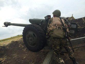 Украинские артиллеристы, иллюстрация