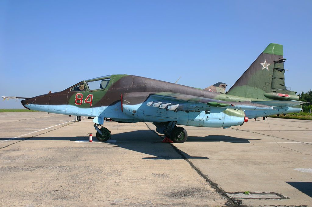 Су-25, иллюстрация