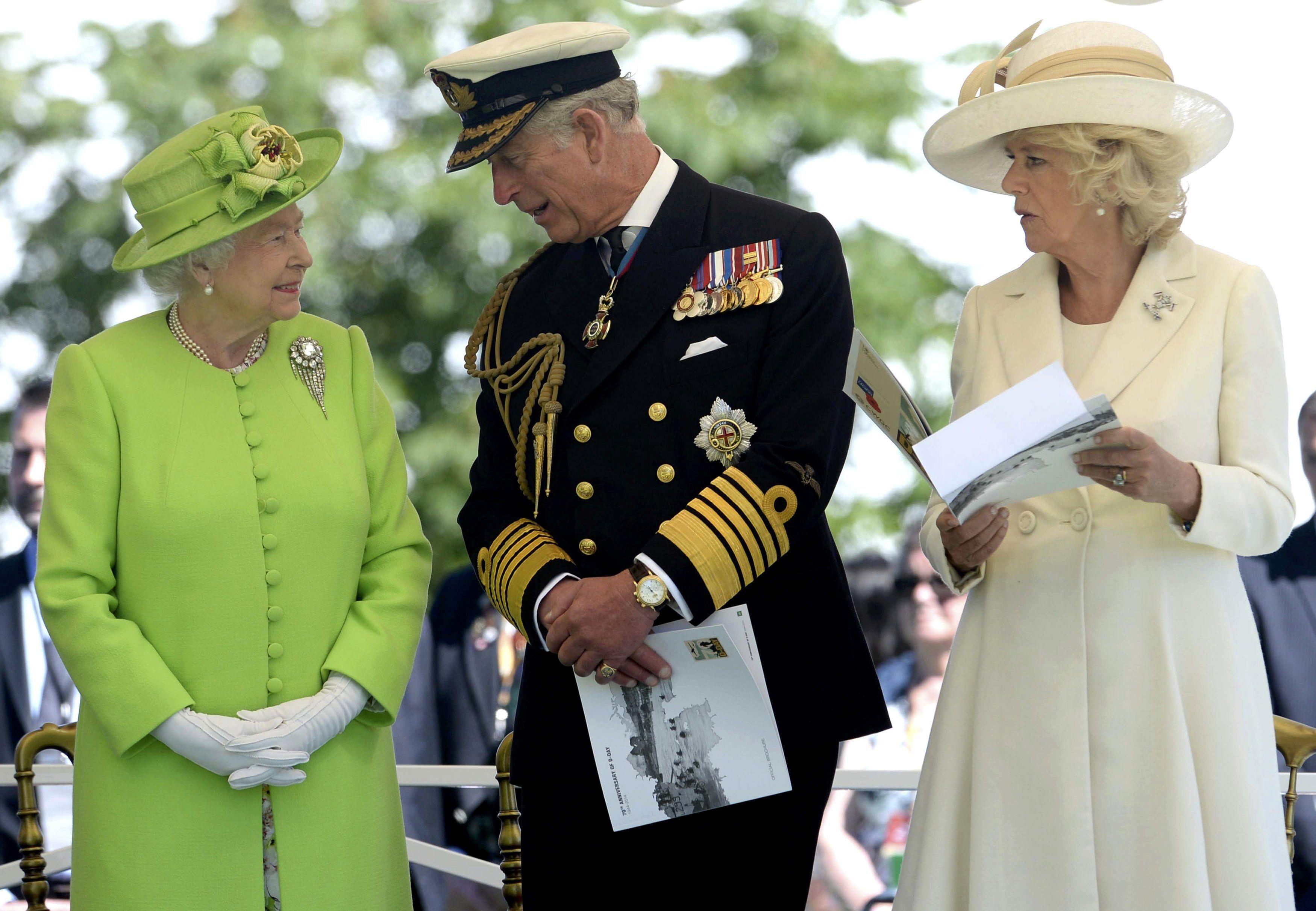Принца Чарльза и его супруга Камилла.