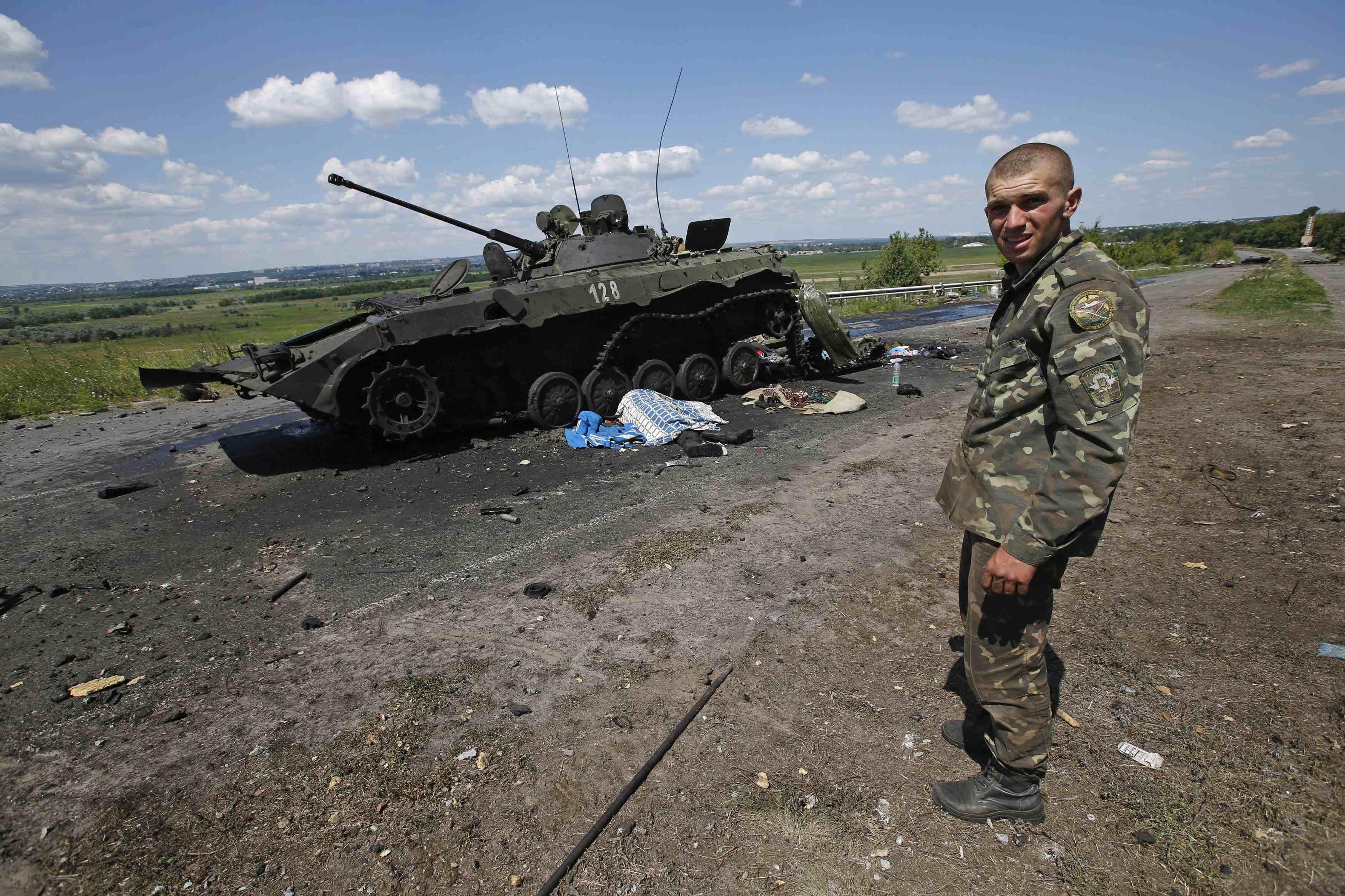 Бовики на Донбассе, иллюстрация