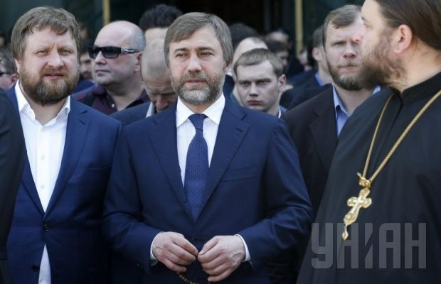 Похороны митрополита Владимира. Нардеп Вадим Новинский