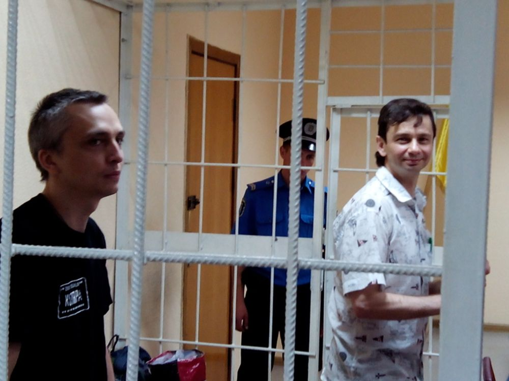 Игорь Завадский в зале суда