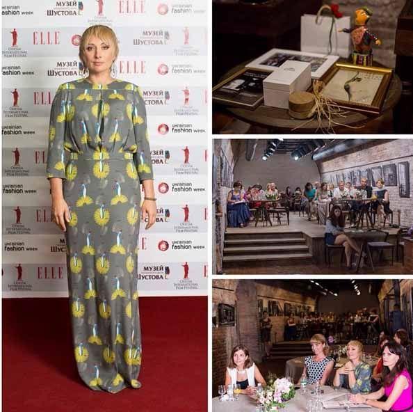 Виктория Тигипко на благотворительном вечере
