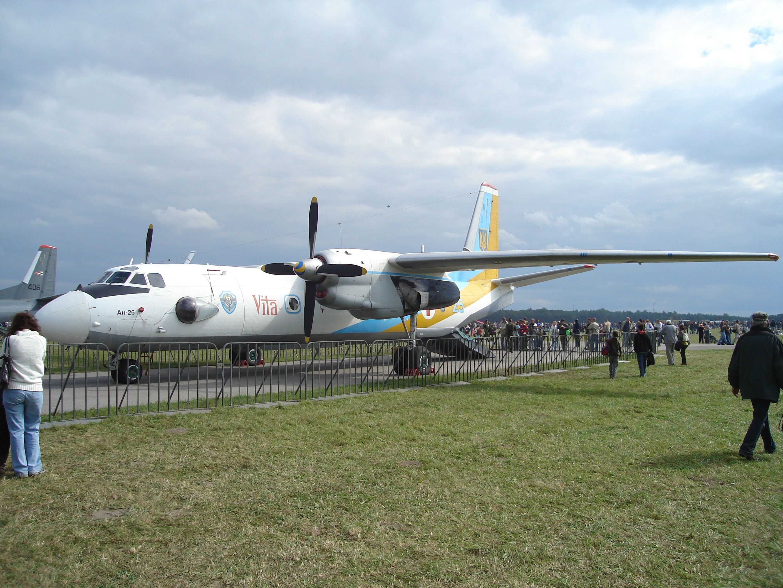 Самолет Ан-26, иллюстрация
