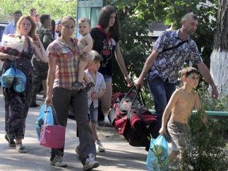 Беженцы, Донбасс