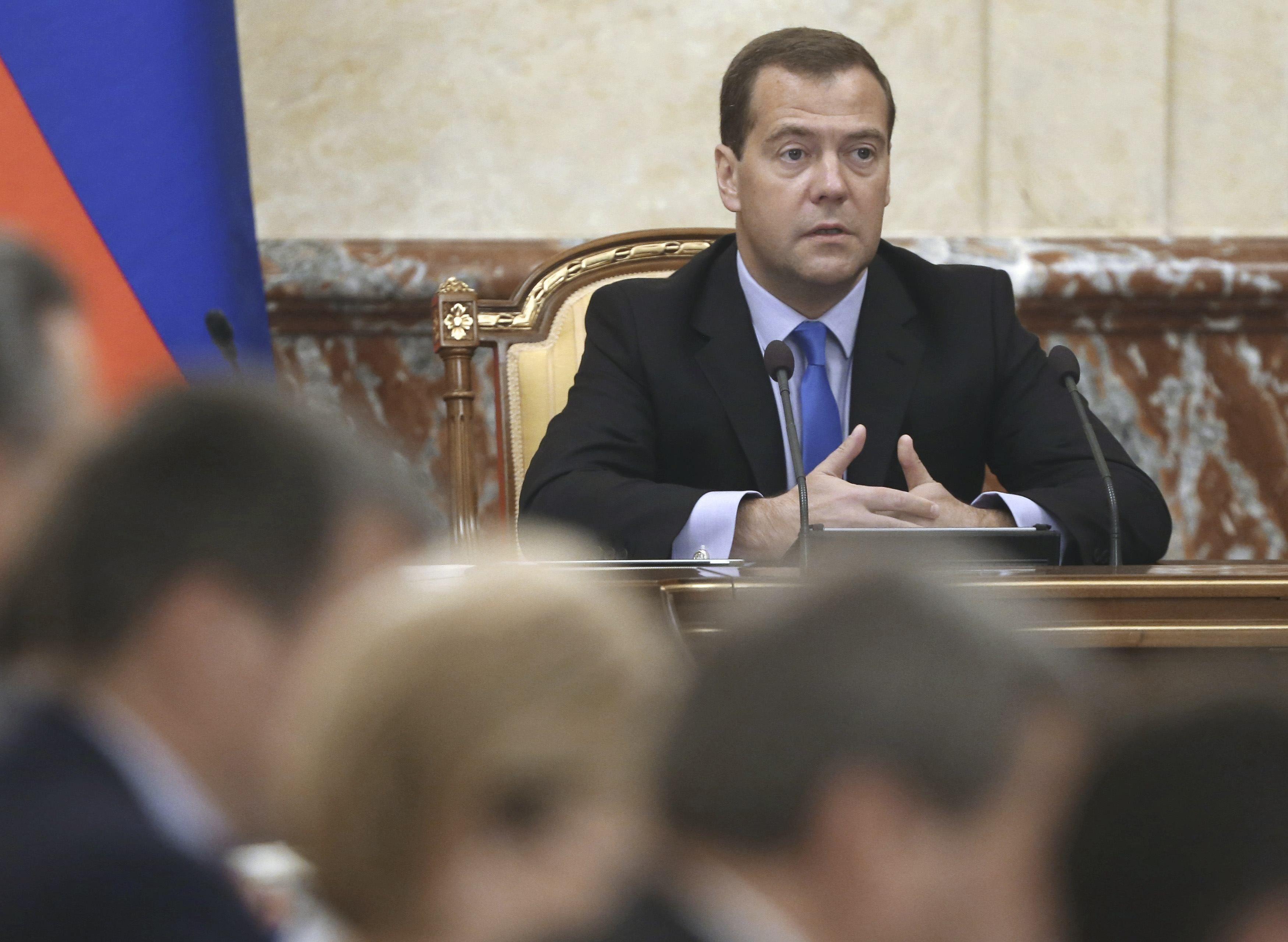 """Дмитрия Медведева могут """"уйти"""" в отставку"""
