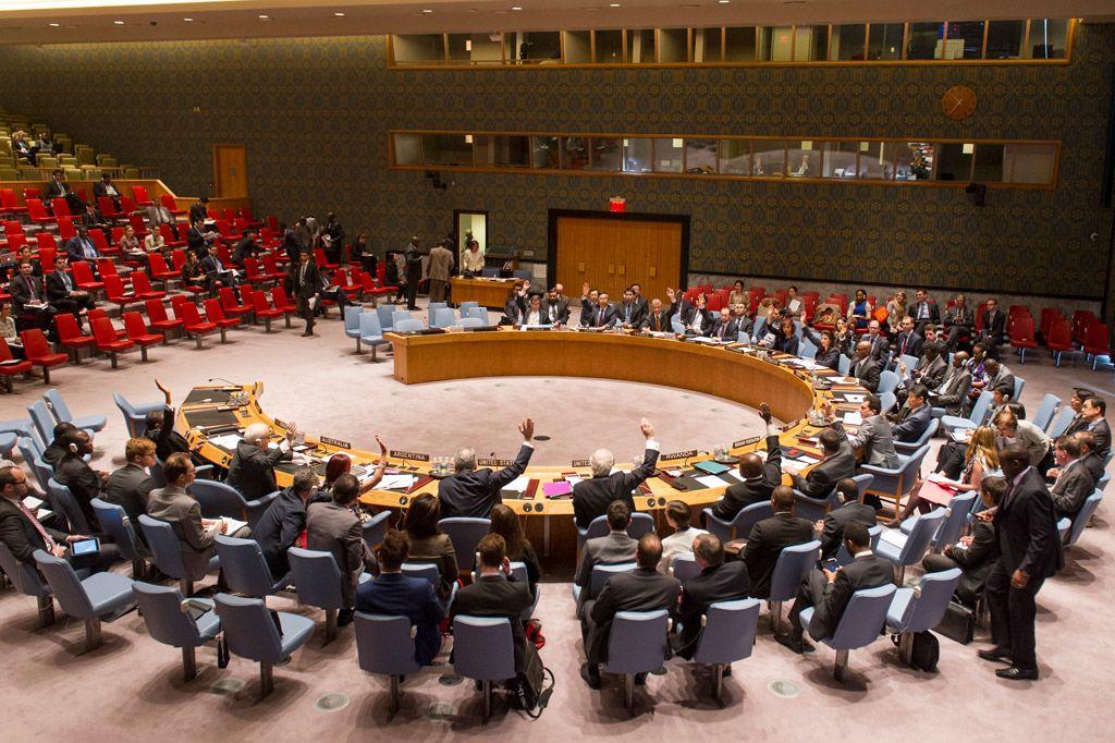 Заседание Совбеза ООН, иллюстрация