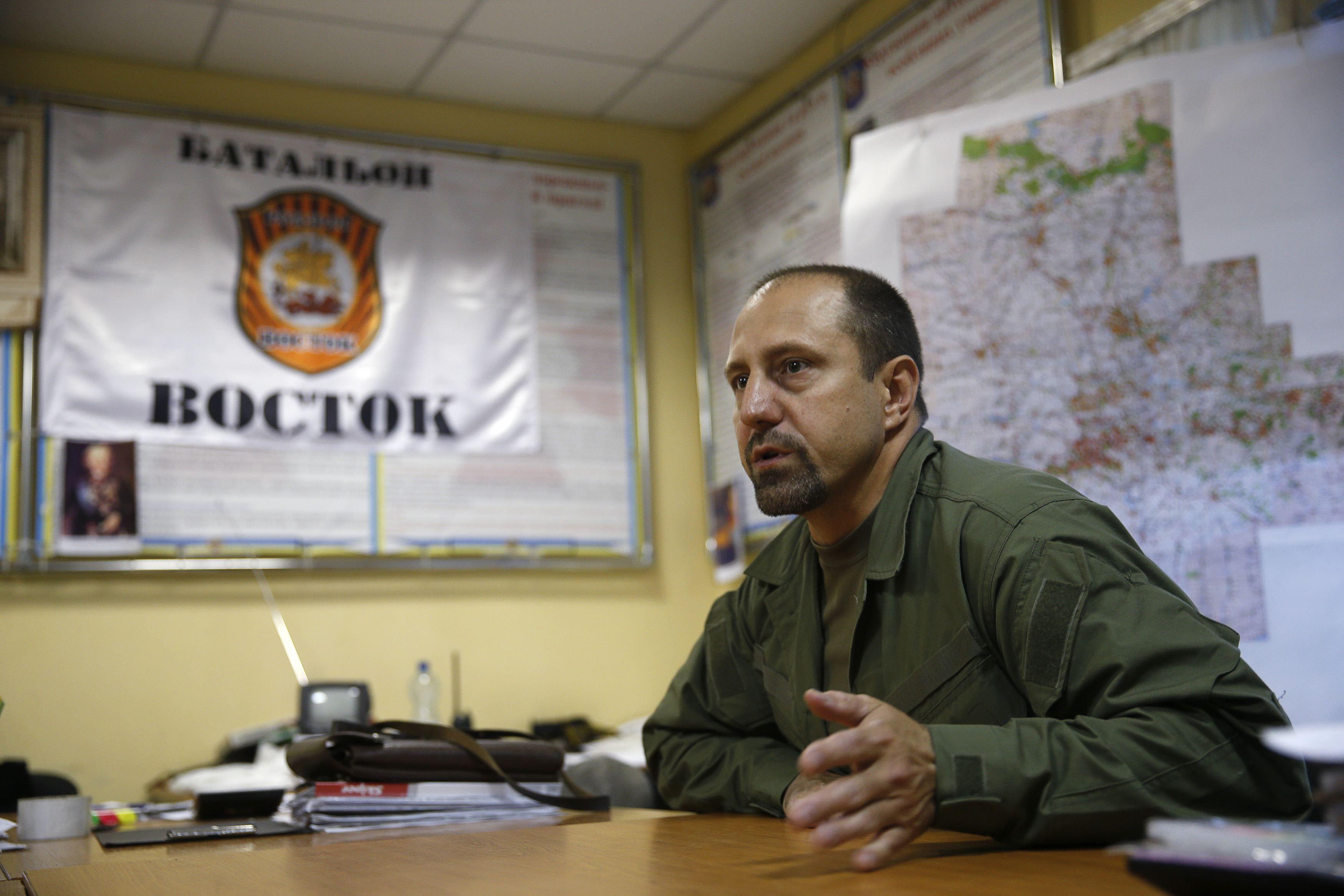 Александр Ходаковский, батальон Восток, террористы