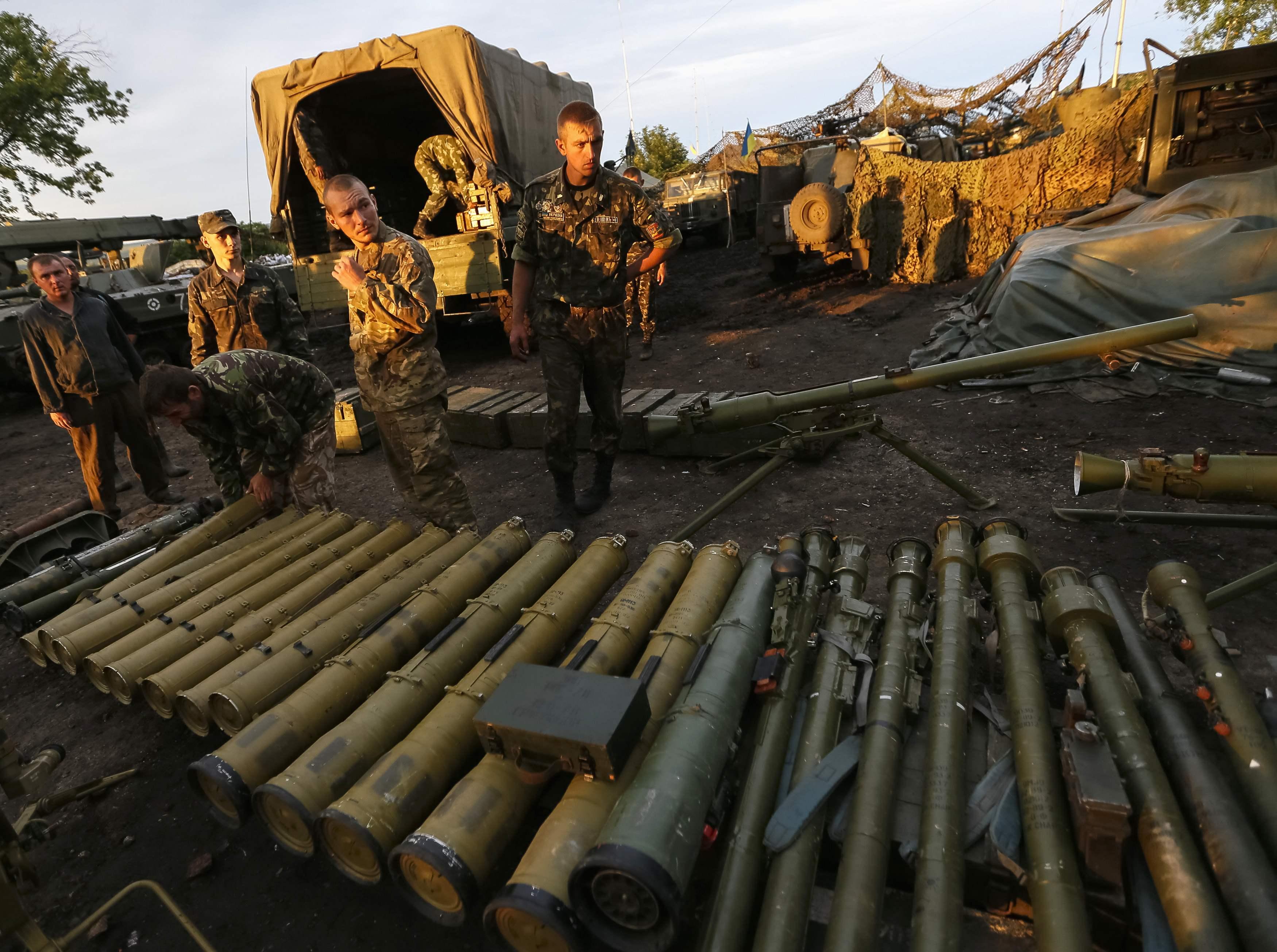 Оружие боевиков, иллюстрация