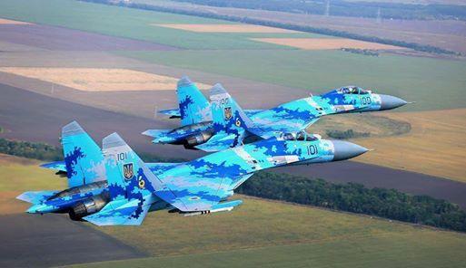 Укранские самолеты, Су-27, МиГ-29