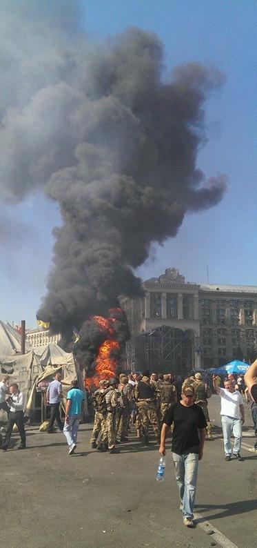 Фото с Майдана Независимости