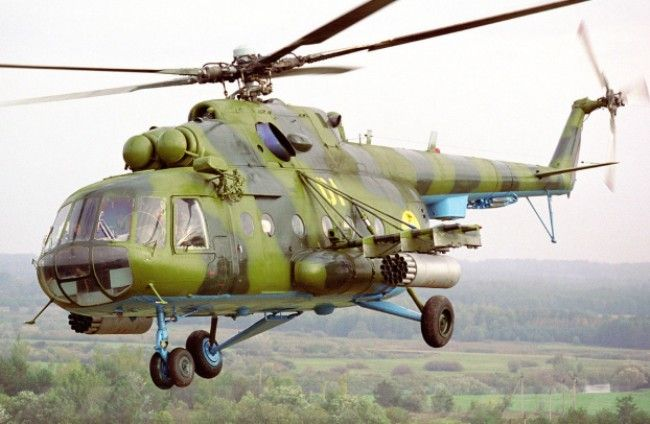 Вертолет Ми-8, иллюстрация