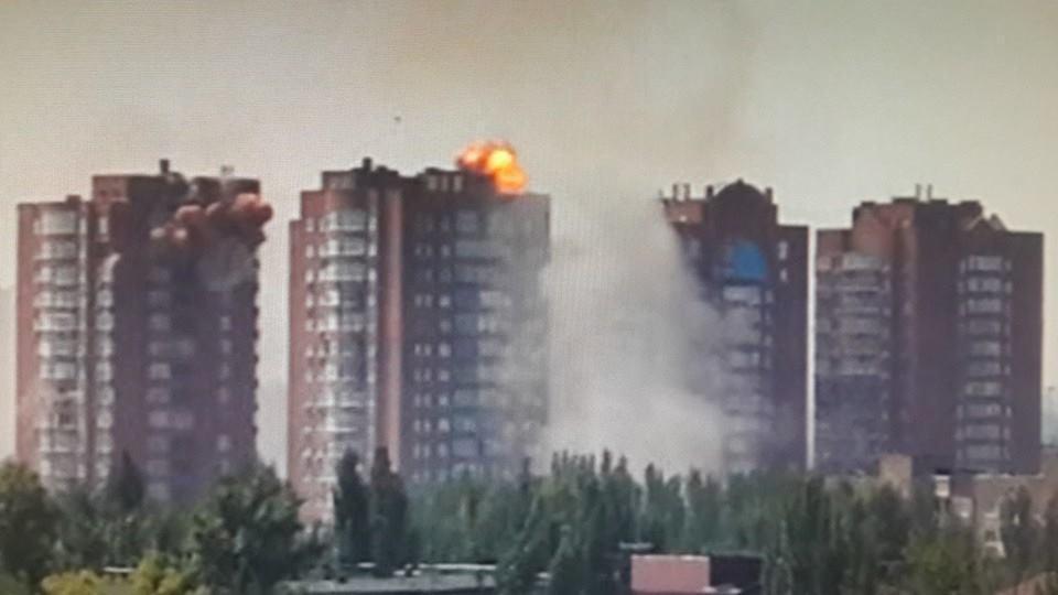 По вине боевиков в Донецкой области гибнут мирные люди