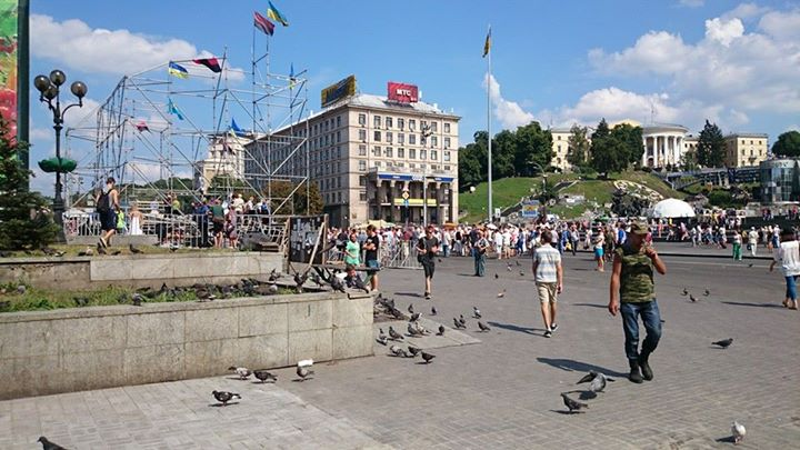 Чистые Майдан и Крещатик