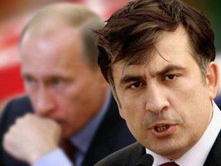 Саакашвили и Путин, иллюстрация
