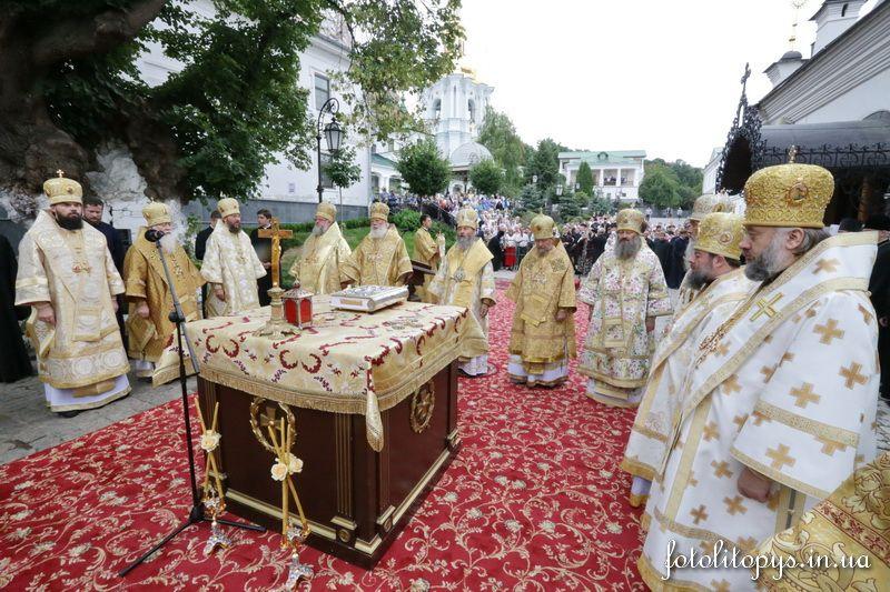 УПЦ МП приостанавливает совместные службы с Константинополем