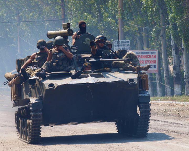 БМП украинских военных, иллюстрация