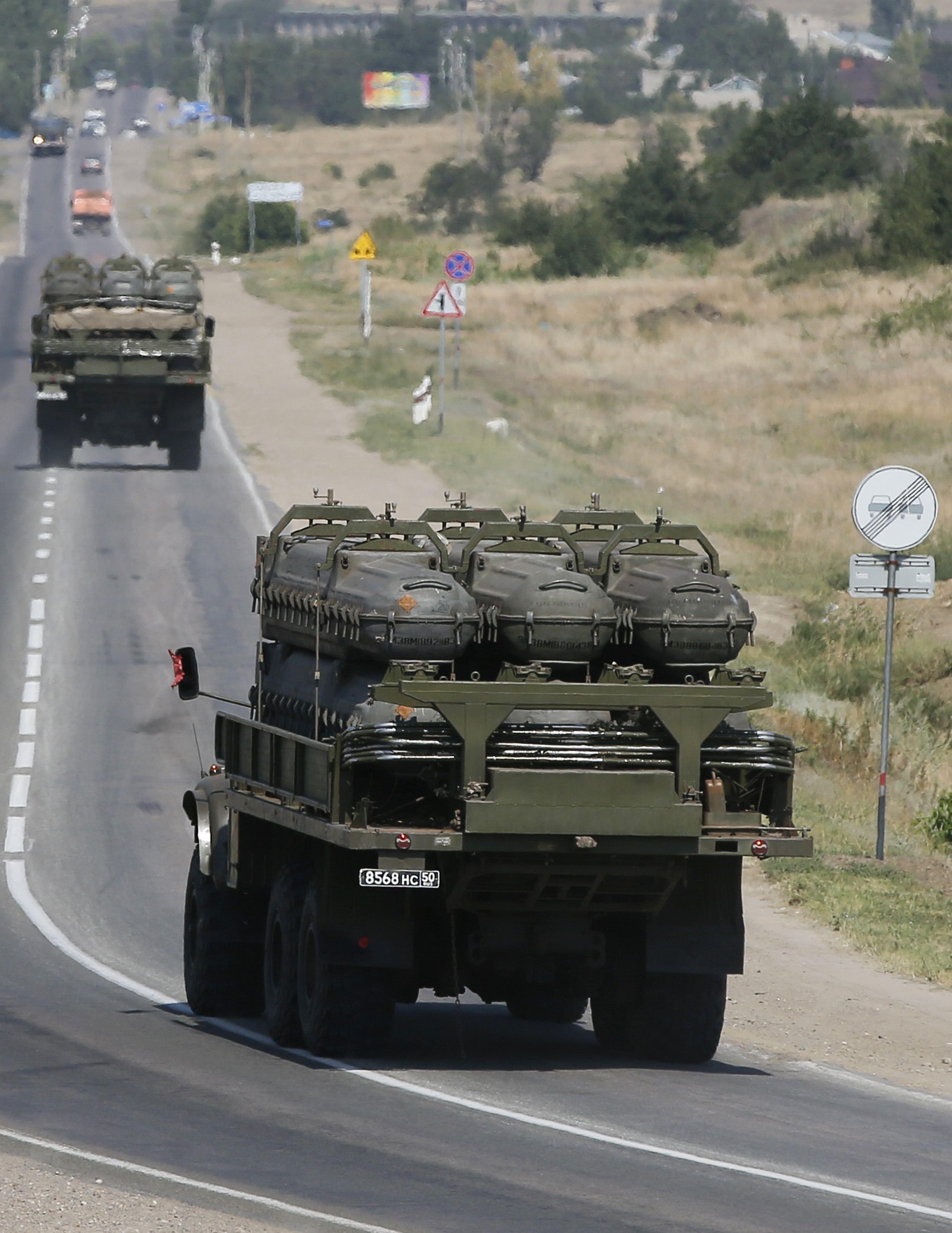 Россия поставляет боевикам