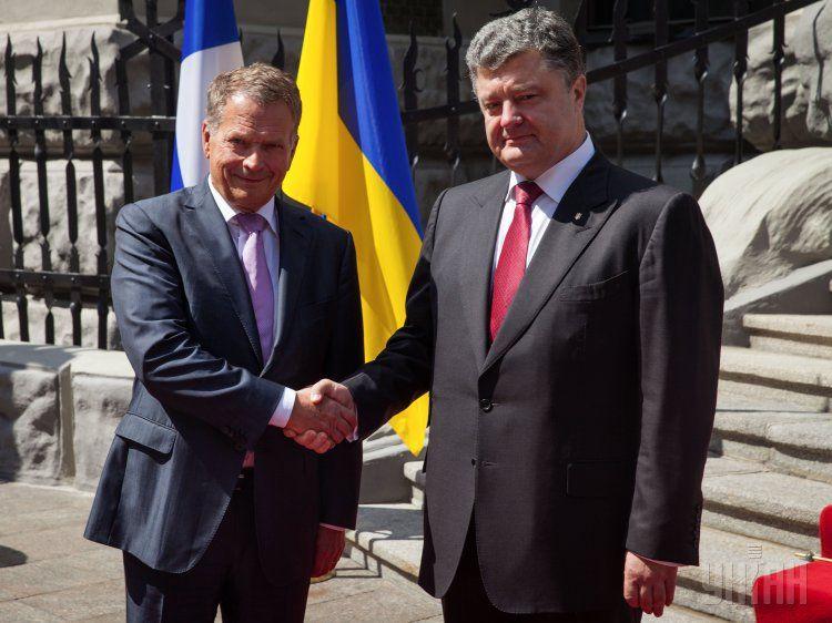 Встреча президентов Украины и Финляндии, иллюстрация