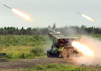 Боевики бьют из российского оружия