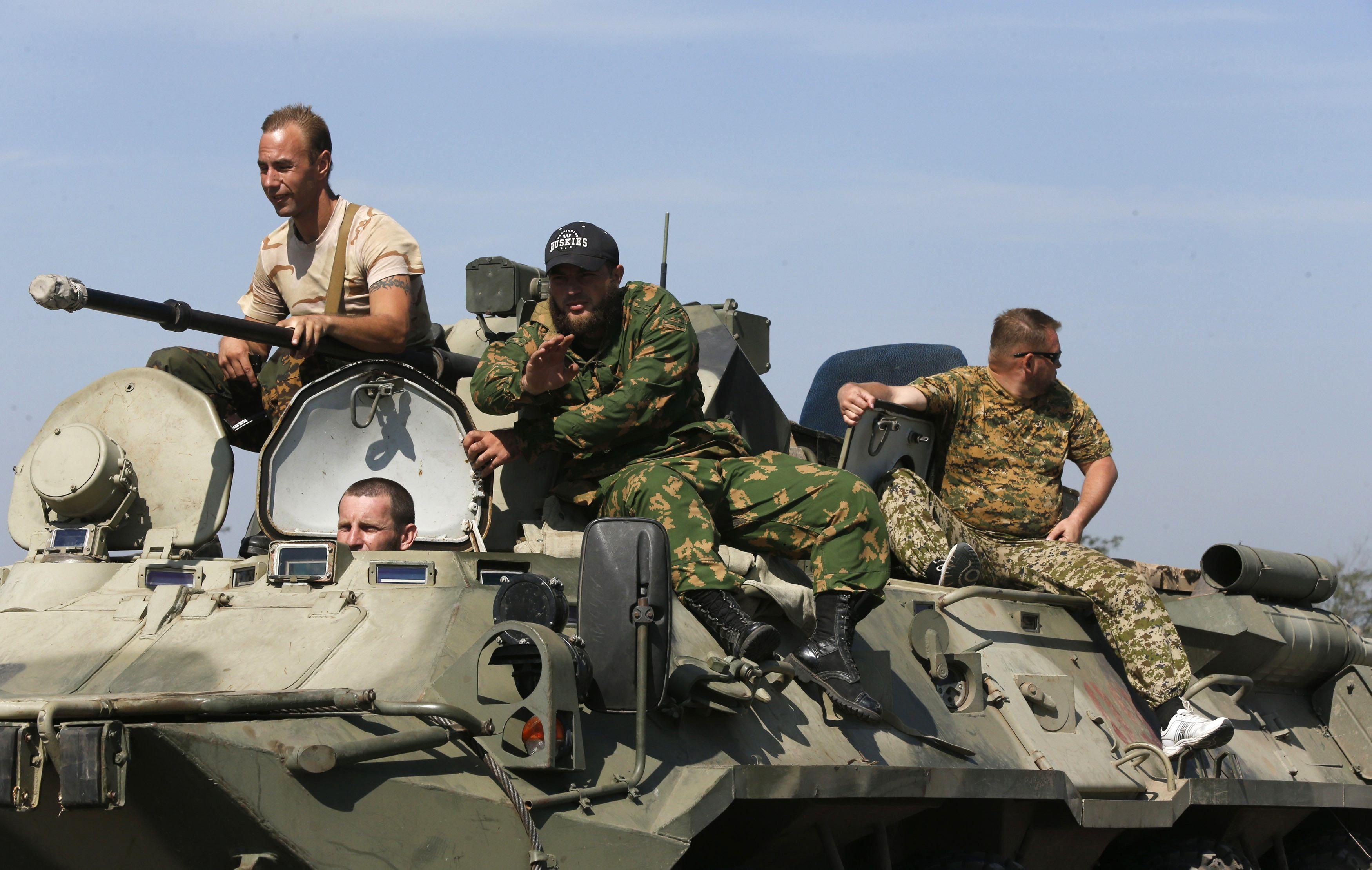 Российские войска у границы Украины, иллюстрация