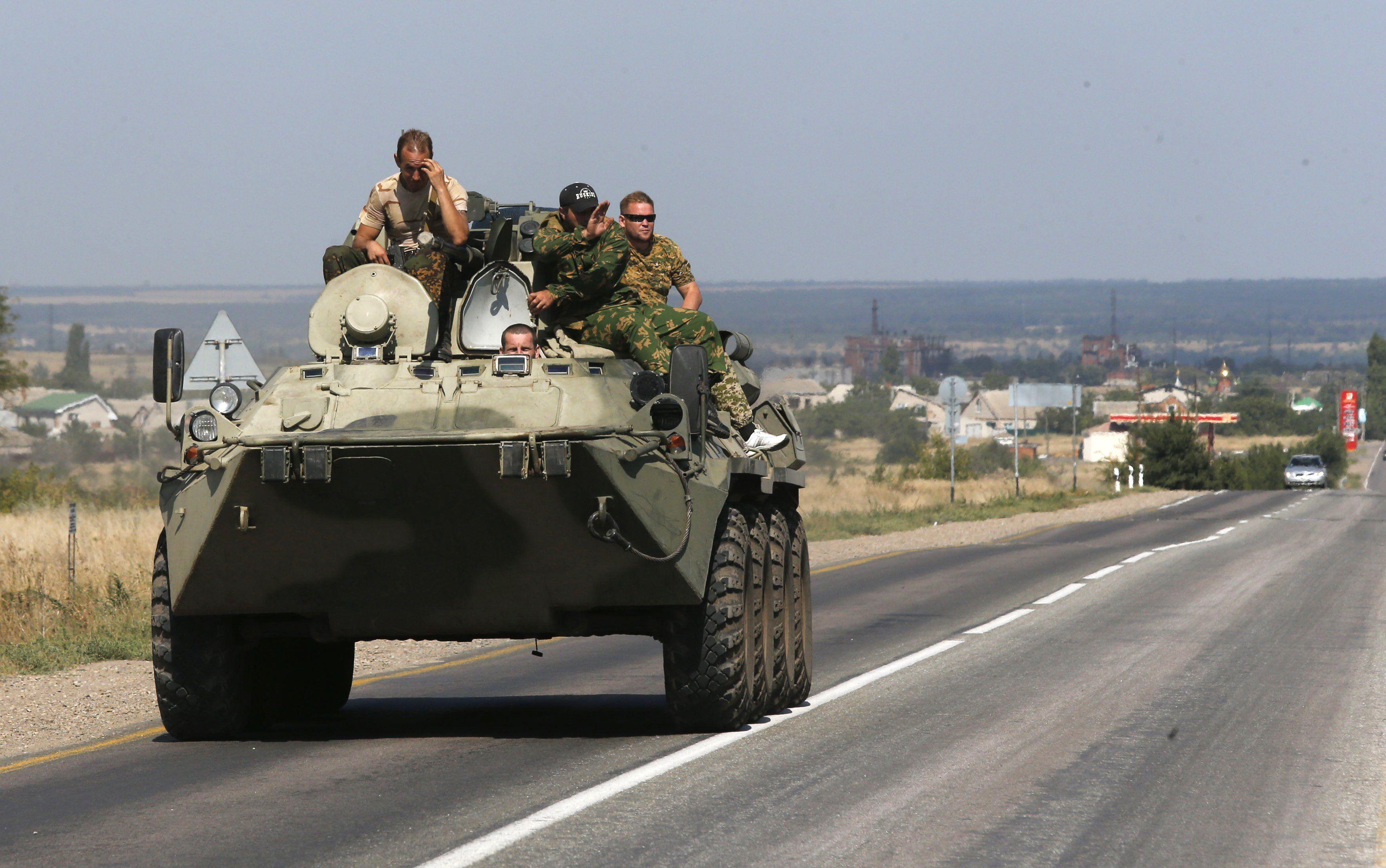 Российская техника возле границ Украины
