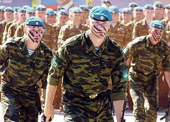 Российские десантники, иллюстрация